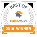 Best of HomeAdvisor 2016 Winner